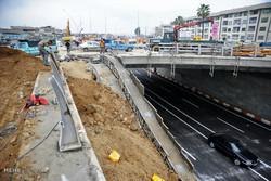طرح زیرگذر رسالت شهر ایلام ۷۵ درصد پیشرفت دارد