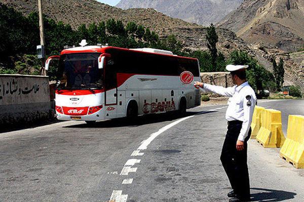 تردد خودروهای سنگین در محورهای خراسان شمالی ممنوع است