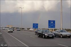 محدودیت ترافیکی در آزادراه قم - تهران اعمال میشود