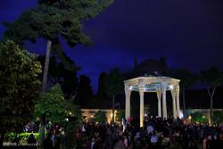 مهمانان نوروزی در حافظیه شیراز