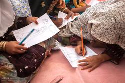 ساخت مدرسه با حضور جهاد گران در روستای جعفرآباد بمپو