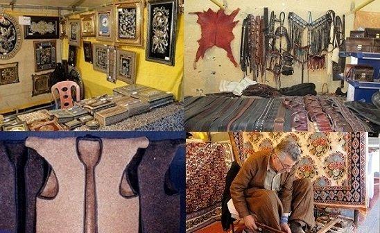 صنایع دستی بهترین یادگاری از سفر به استان کردستان