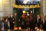 ورود مسئول سیاست خارجی اتحادیه اروپا به محل مذاکرات-لوزان سوئیس