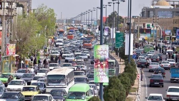 کاهش ترافیک در محورهای برون شهری/ چالوس - کرج نیمه سنگین