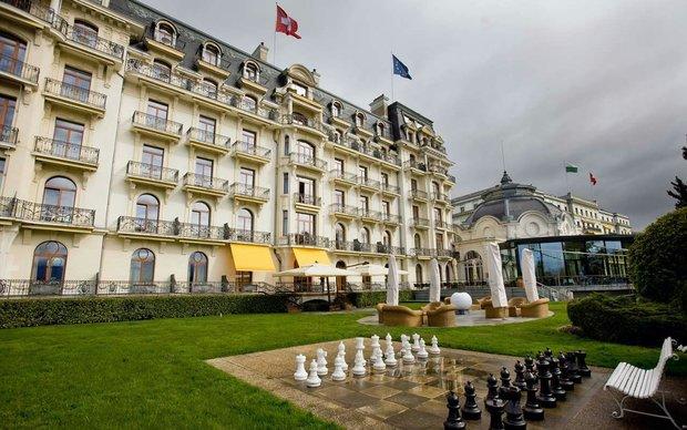 تدابیر شدید امنیتی درBeau-Rivage Palace/سکوت خبری درهوای سردلوزان