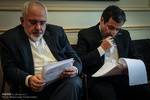 جلسه داخلی هیات مذاکره کننده ایرانی در لوزان سوئیس