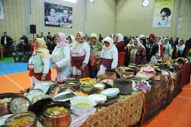 اولین جشنواره فرهنگ و آشپزی در روستای آهنگرمحله گرگان