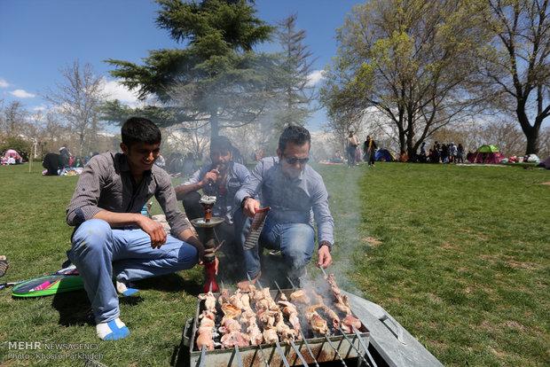 روز طبیعت در بوستان ملت