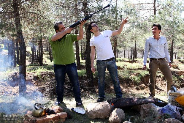 روز طبیعت در بوستان جنگلی یاس تهران