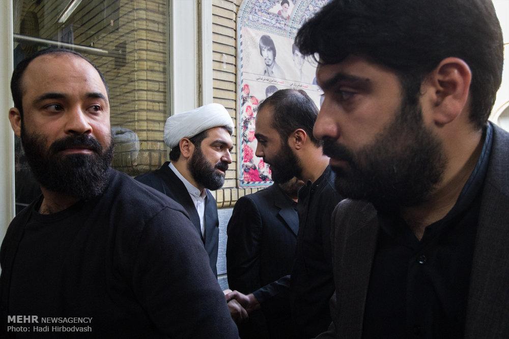مجلس ترحیم پدر حجت الاسلام شهاب مرادی