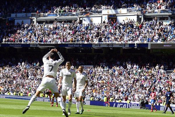 رئال مادرید با ۹ گل گرانادا را در هم کوبید/ رونالدو ۵ گل زد