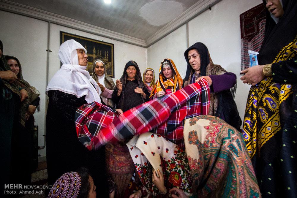 آئین سنتی عروسی ترکمن