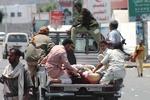 زخمی جنگ یمن