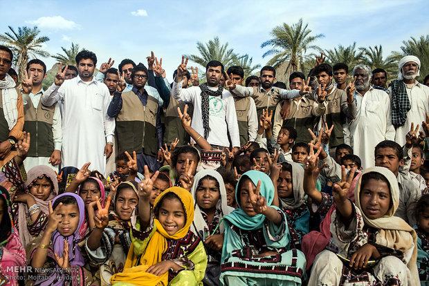 اردوی جهادی در مناطق محروم سیستان و بلوچستان