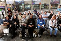 ورود قطارگردشگران خارجی به اصفهان
