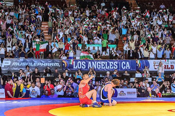 ایران با شکست آمریکا برای چهارمین سال پیاپی قهرمان جهان شد