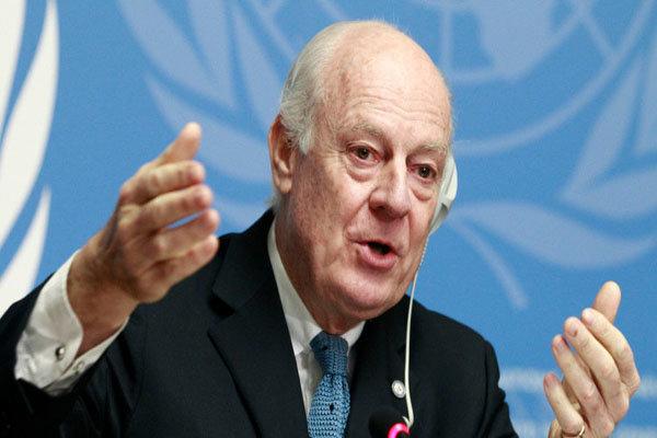 دي ميستورا: محادثات جنيف 3 حول سوريا تبدأ الجمعة