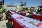 ورود 63 شهید دفاع مقدس از مرز شلمچه