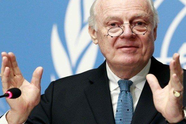 دي ميستورا  يزور ايران للتشاور حول سوريا