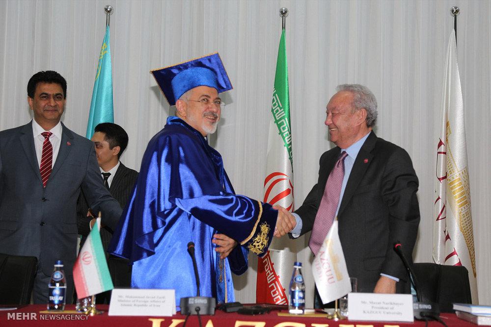 عکس جدید ظریف