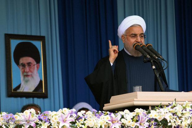 روحانی, سخنرانی روحانی در شیراز