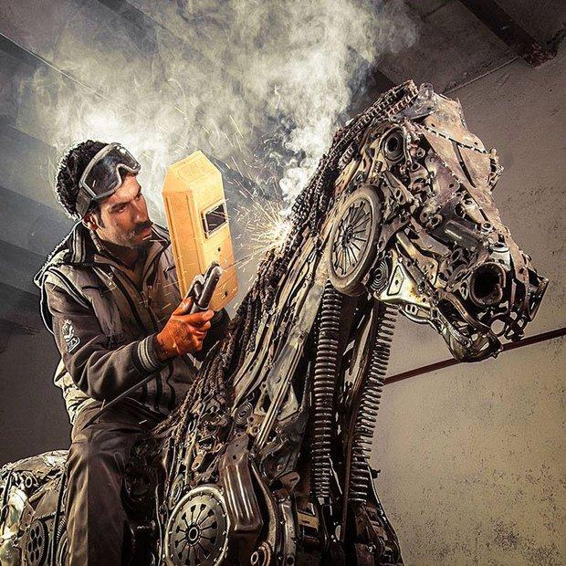 اسب بالدار