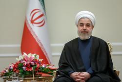دیدار جولی بیشاپ وزیر امور خارجه استرالیا با حجت السلام حسن روحانی رئیس جمهور