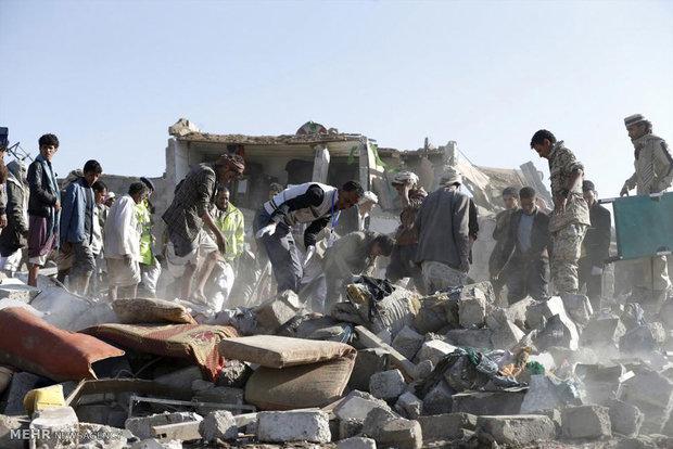 یمن کے صوبہ عمران میں 230 یمنی شہید اور زخمی