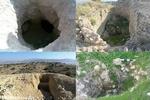 حفاری های غیرمجاز در کالبد منابع تجدیدناپذیر فرهنگی و باستانی ریز
