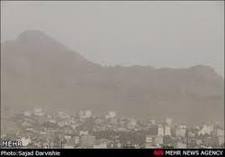 غبارآلودگی هوا در اصفهان ادامه دارد