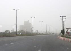 گرد و غبار در اصفهان فروکش کرد