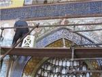 مرمت محراب مسجد امام(ره) سمنان