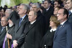 حضور رهبران جهان در ارمنستان