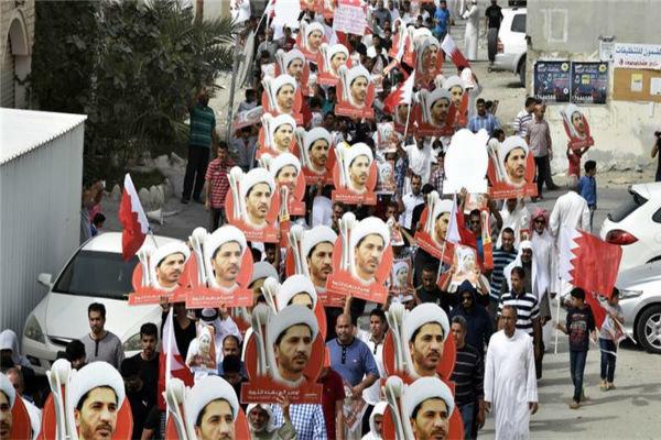 برگزاری ۴۰ تظاهرات علیه رژیم آلخلیفه طی هفته گذشته