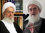 آیات عظام مکارم شیرازی و نوری همدانی