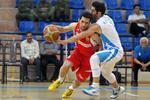 دیدار تیم های بسکتبال مهرام و دانشگاه آزاد