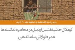 بررسی پدیده حاشیه نشینی در استانهای کشور - ۱6 / اردبیل