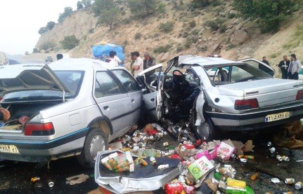 ۶ کشته و ۲۶ مجروح حاصل حوادث رانندگی محورهای مواصلاتی استان سمنان