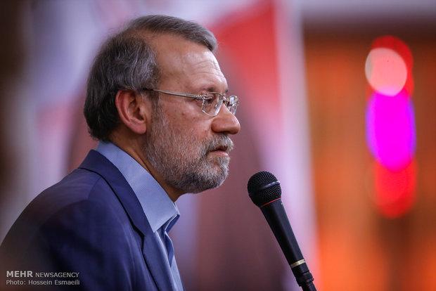 لاريجاني : واثقون من انتصار سوريا على الارهاب