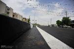 بلوار ۲۲ متری ماموستا هیمن ناحیه منفصل حسن آباد سنندج افتتاح شد