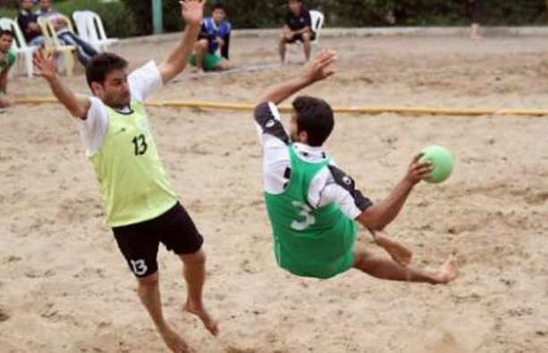 Iran beats Oman in Asian Beach Handball Championship