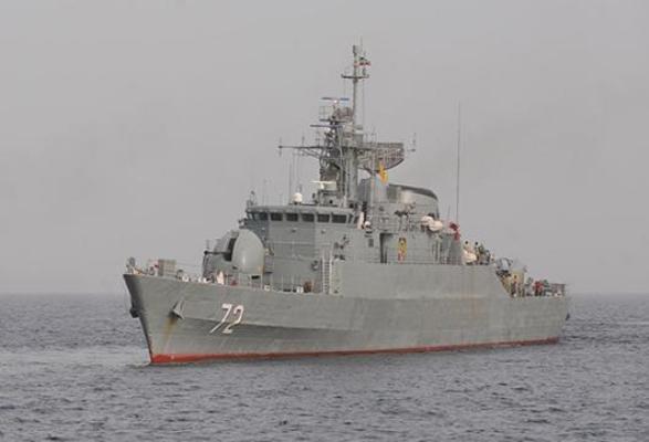 هشدار ناوشکن ایرانی به هواپیماها و ناو جنگی آمریکا در خلیج عدن