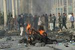 قندھار میں کار بم دھماکے میں 40 فوجی ہلاک