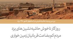 بررسی پدیده حاشیه نشینی در استانهای کشور ۳۸ / یزد