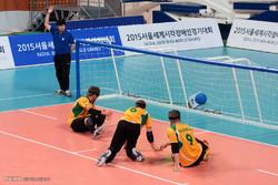 ورزشکار نابینای یزد در اردوی انتخابی تیم ملی گلبال حضور یافت