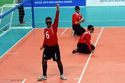 دیدار تیمهای گلبال ایران و استرالیا