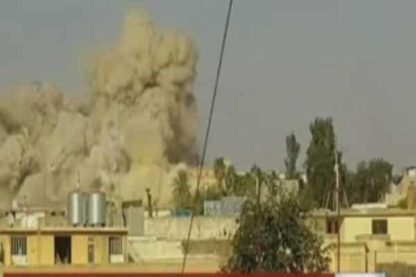 استشهاد 10 مدنيين بغارة استهدفت سوقا شعبية في صعدة