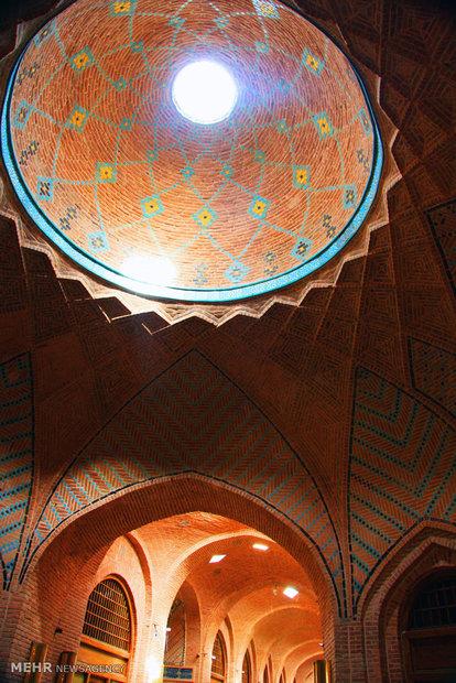 Qazvin historical texture