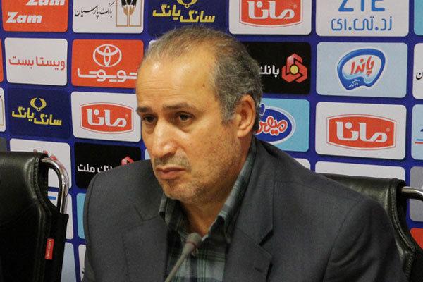 مهدی تاج رئیس سازمان لیگ فوتبال
