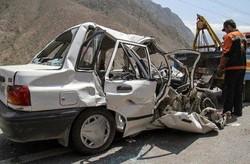 سهم ۸۰ درصدی خودروهای شخصی در تصادفات جادهای
